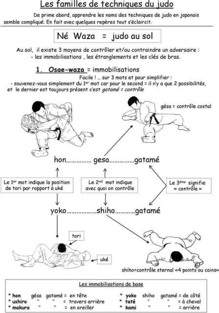 Ne Waza=Judo au sol